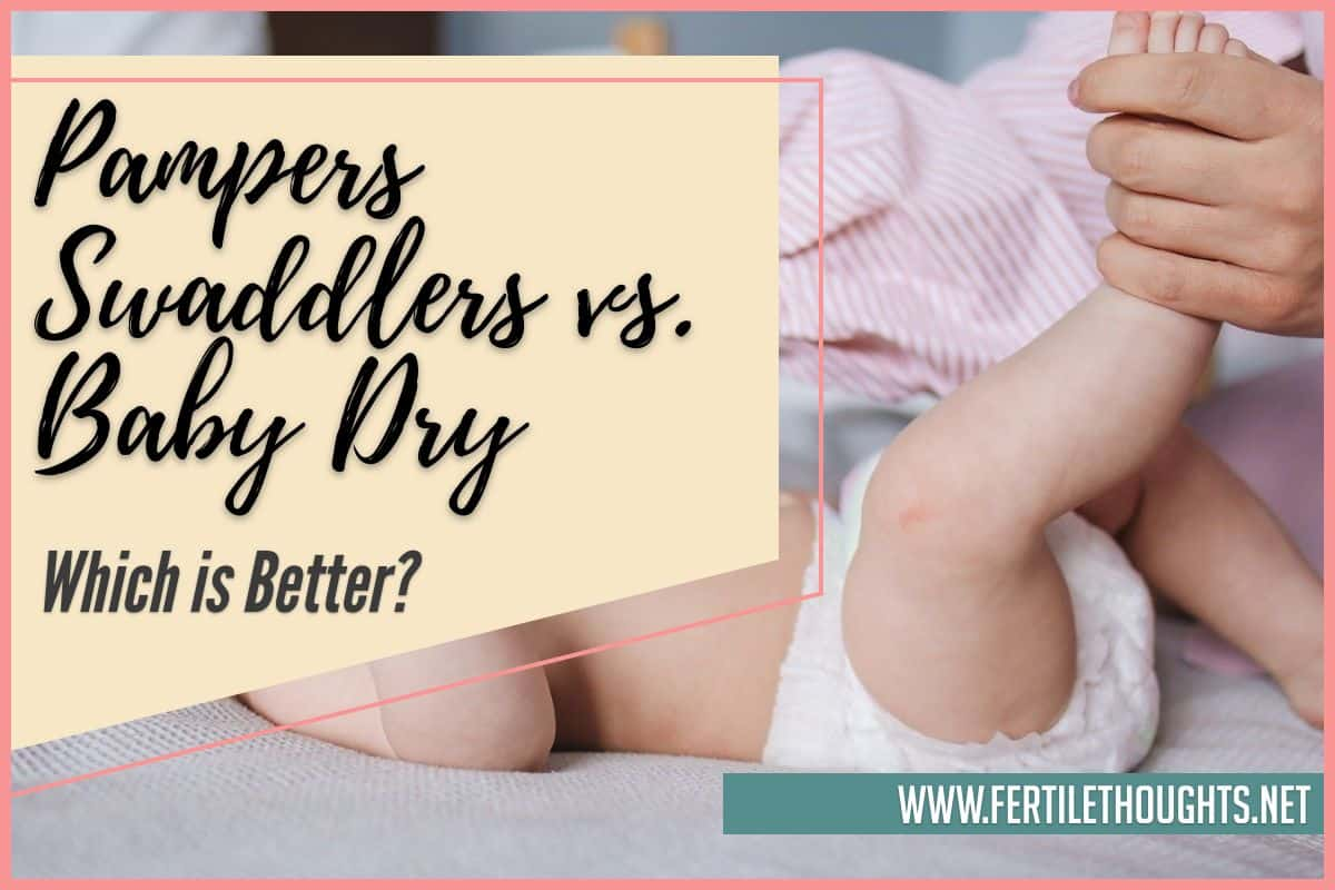 Pampers Swaddlers vs. Baby Dry - Which is Better